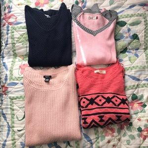 Tops - Bundle of four Sweater